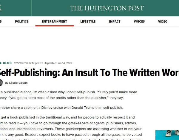Self-Publishing isn't a dirty word…